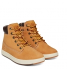 Chaussures Enfant Timberland Davis Square 6-inch Boot - Wheat nubuck