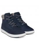 Chaussures Enfant Timberland Davis Square 6-inch Boot - Bleu marine