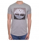 T-Shirt Homme Timberland SS Kennebec River Photographic - Coupe droite