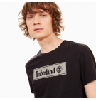 T-Shirt Homme Timberland SS Warner River Tee - Coupe Droite