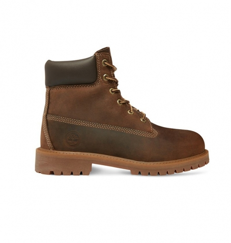 Boots Junior Timberland 6-inch Authentics Boot - Marron foncé