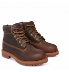 Boots Enfant Timberland 6-inch Authentics Boot - Marron foncé