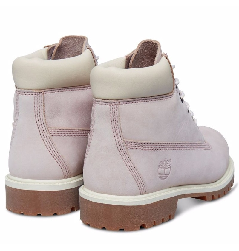 ccbb83f91c9 Boots Petit Fille Timberland Icon 6-inch Premium WP Boot - Lavande