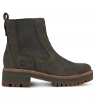 Bottines Femme Timberland Courmayeur Valley Chelsea - Olive