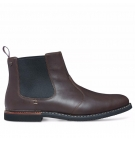 Chaussures Homme Timberland Brook Park Chelsea - Cuir Marron