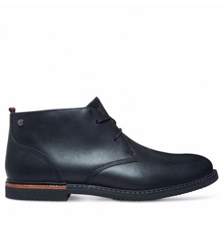 Chaussures Homme Timberland Brook Park Chukka , Cuir noir