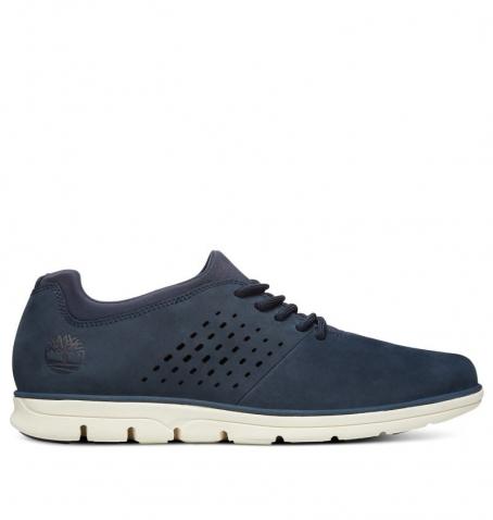 Chaussures Homme Timberland Bradsteet Perf'd Plain Toe Oxford - Bleu marine
