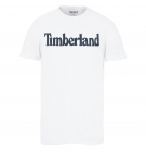 T-shirt Homme Timberland SS Kennebec River Brand Regular Tee - Coupe Droite