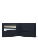 Porte-monnaie Timberland Willowdale DBL Stitched LG Bifold - Noir
