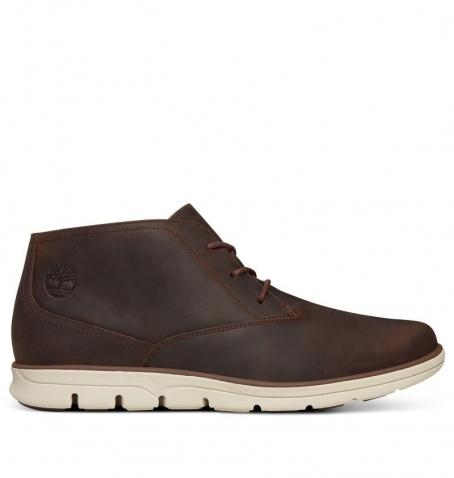 Chaussures Homme Timberland Bradstreet Plain Toe Chukka - Marron foncé