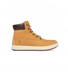 Chaussures Junior Timberland Davis Square 6-inch Boot - Wheat nubuck