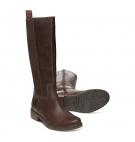 Bottines Femme Timberland Mont Chevalier Tall Boot - Marron foncé