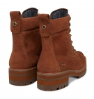 Bottines Femme Timberland Courmayeur Valley YB - Rust Nubuck