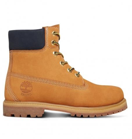 7b126e798cb45 Boots Femme Timberland Icon 6-inch Premium Boot - Wheat nubuck