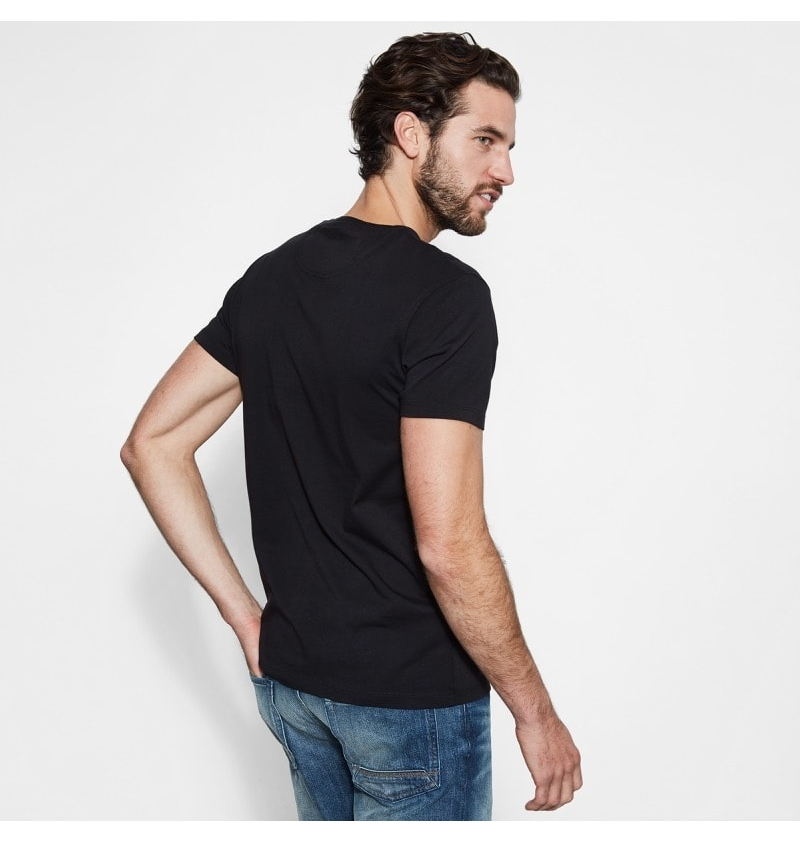 f8616648 T-Shirt Homme Timberland SS Dunstan River Pocket - Coupe Slim