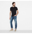 T-Shirt Homme Timberland SS Dunstan River Pocket - Coupe Slim