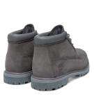 Boots Femme Timberland Nellie Chukka Double WP Boot - Gris foncé