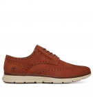 Chaussures Homme Timberland Franklin Park Wingtip Brogue Oxford - Marron