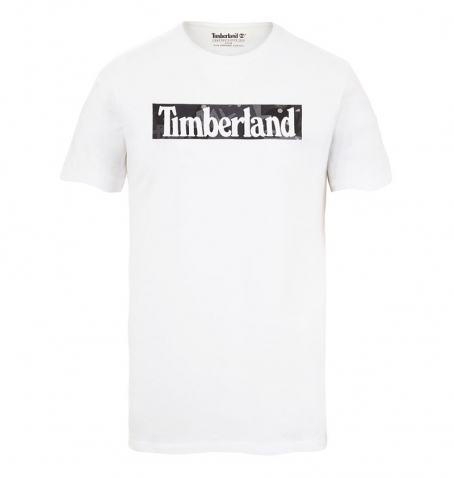 T-shirt Homme Timberland SS Kennebec Seasonal Pattern - Coupe droite
