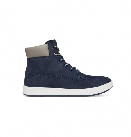 Chaussures Petit Enfant Timberland Davis Square 6-inch Boot - Bleu marine