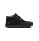 Chaussures Junior Timberland Davis Square Leather Chukka - Noir