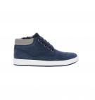 Chaussures Enfant Timberland Davis Sqaure Leather Chukka - Bleu marine