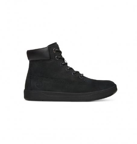 Chaussures Petit Enfant Timberland Davis Square 6-inch Boot - Noir