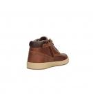 Chaussures Junior Timberland Davis Square Leather Chukka - Marron