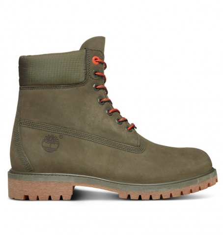 Premium Cuir Timberland Icon 6 Inch Vert A1qy1 Boot pxCtxYw