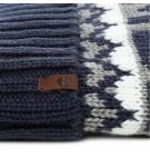 Bonnet Homme Timberland Logo Cuffed Pom Hat
