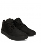 Chaussures Homme Timberland Davis Square Fabric Leather Chukka - Noir