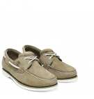 Chaussures Bateau Homme Timberland Classic Boat 2 Eye - Olive nubuck