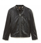 Veste en cuir Homme Timberland Kinksman Mountain Leather Jacket - Noir