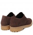 Chaussures de ville Homme Timberland Folk Gentleman Oxford - Marron Suède