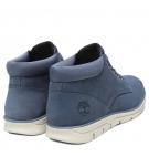 Chaussures Homme Timberland Bradstreet Chukka Leather - Bleu foncé nubuck