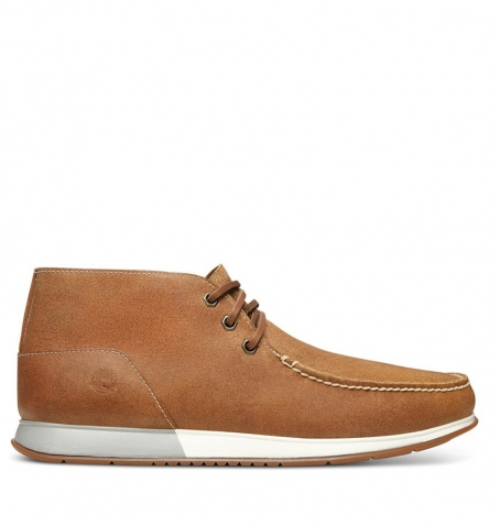 Chaussures Homme Timberland Heger's Bay 3 Eye Chukka - Marron Suède