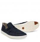 Chaussures Homme Timberland Project Better Slip-On - Bleu marine nubuck