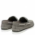 Chaussures Bateau Homme Timberland Classic Boat 2 Eye - Gris nubuck