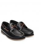 Chaussures Bateau Homme Timberland Classic Boat 2 Eye - Bleu marine full grain
