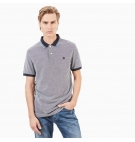 Polo Homme Timberland SS Millers River LW Pique Oxford - Coupe Slim