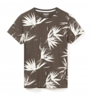 T-shirt Homme Timberland SS Kennebec River AOP Tee - Coupe Droite