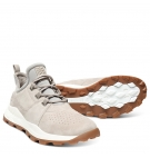 Chaussures Homme Timberland Brooklyn Lace Oxford - Taupe Suède