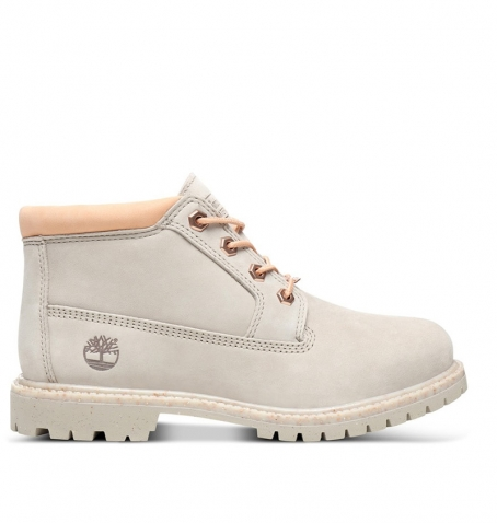 Boots Femme Timberland Nellie Chukka Double WP - Taupe clair nubuck