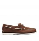 Chaussures Bateau Timberland Classic Boat 2 Eye - Chocolat nubuck