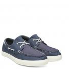Chaussures Bateau Homme Timberland Union Wharf 2 Eye Oxford - Bleu foncé