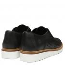 Chaussures Femme Timberland Ellis Street Perf Oxford - Noir full grain