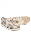 Chaussures Bateau Femme Timberland Camden Falls Suède Boat - Beige floral