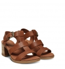 Sandales Femme Timberland Tallulah May T-Band Sandal -  Rouille full grain