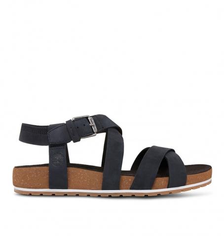 Sandales Femme Timberland Malibu Waves Ankle - Noir nubuck