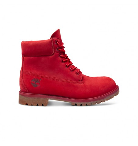 Timberland Rouge - A1149 - Icon 6-inch Premium Boot Homme